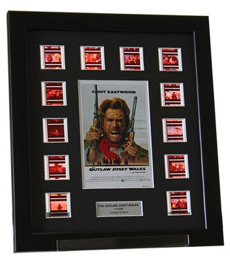 Outlaw Josey Wales, The (1976) - 12 Cell Classic Display - ONLY 1 AT THIS PRICE