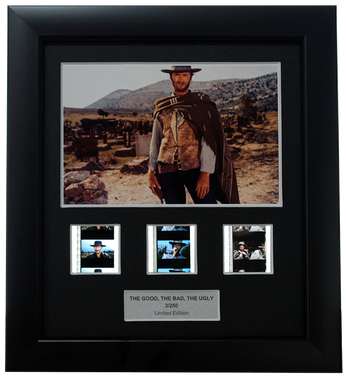 Good, the Bad and the Ugly, The (1966) - 3 Cell Display - Clint Eastwood Collection