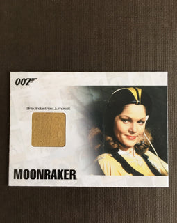 MOONRAKER COSTUME (JUMPSUIT) - Limited & Rare Trading Card