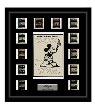 Mickey's Grand Opera (1936) - 12 Cell Classic Display - ONLY 2 AT THIS PRICE