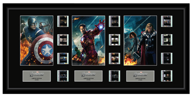 Avengers - Triple 12 Cell Display