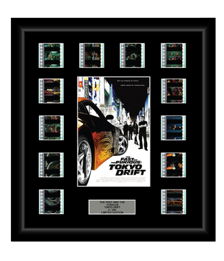 Fast and Furious (3) Tokyo Drift (2006) - 12 Cell Display - ONLY 1 AT THIS PRICE