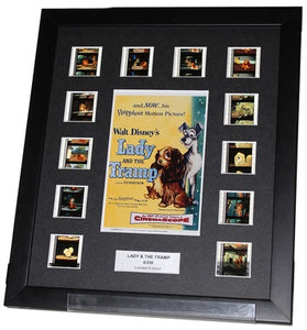 Lady and the Tramp (1955) (Classic Disney) - 12 Cell Display - ONLY 1 AT THIS PRICE