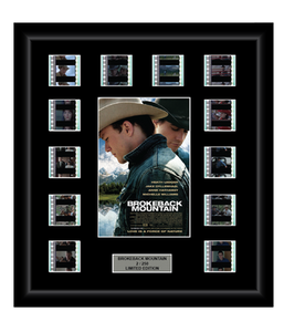 Brokeback Mountain (2005) - 12 Cell Film Display
