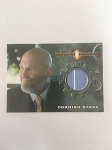 IRON MAN COSTUME (OBADIAH STANE) - Limited & Rare Trading Card