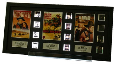 John Wayne 3 Decades of Western Films - Triple 12 Cell Display