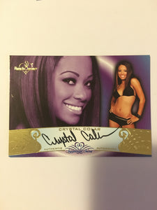 Crystal Colar - Autographed Benchwarmer Trading Card (1)