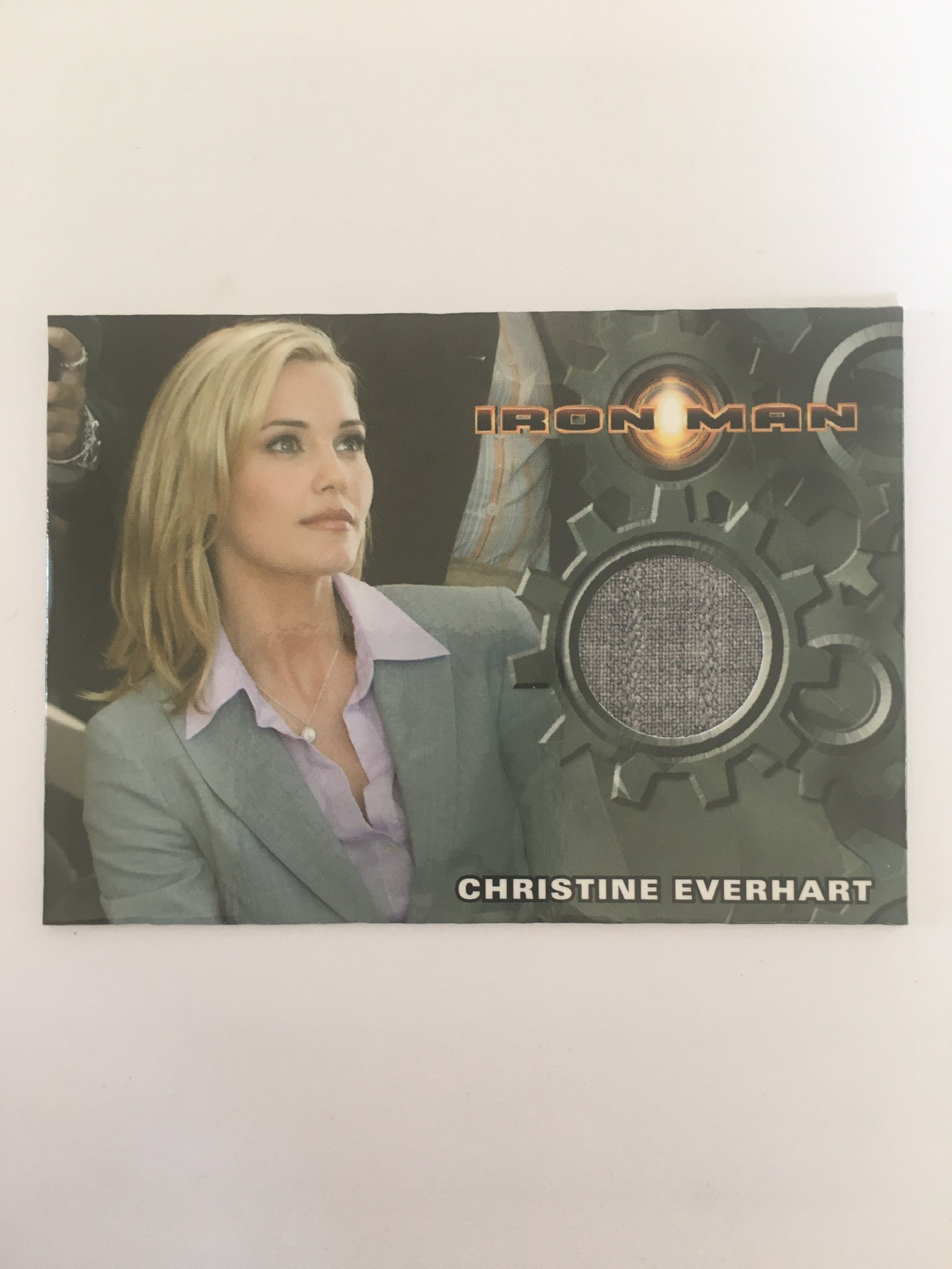 IRON MAN COSTUME (CHRISTINE EVERHART) - Limited & Rare Trading Card