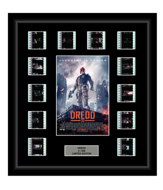 Dredd (2012) - 12 Cell Display - ONLY 1 AT THIS PRICE