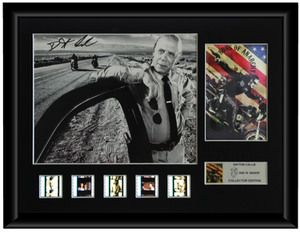 Sons of Anarchy Autographed Film Cell Display (Dayton Callie)