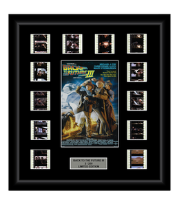 Back to the Future III (1990) - 12 Cell Classic Display