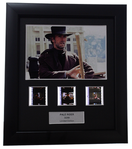 Pale Rider (1985) - 3 Cell Display - Clint Eastwood Collection