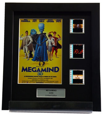 Megamind - 3 Cell Display