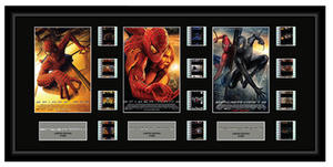 Spider-Man Trilogy - Triple 12 Cell Display
