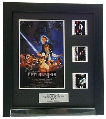 Star Wars Episode VI: Return of the Jedi - 3 Cell Display - ONLY 2 AT THIS PRICE!
