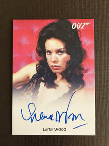 James Bond Autograph Card (Lana Wood) - Limited & Rare Trading Card