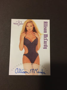 Allison McCurdy - Autographed Benchwarmer Trading Card (1)