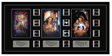 Star Wars Episodes 1,2,3 - Triple 12 Cell Display