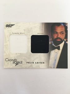 CASINO ROYALE COSTUME (FELIX LEITER) - Limited & Rare Trading Card