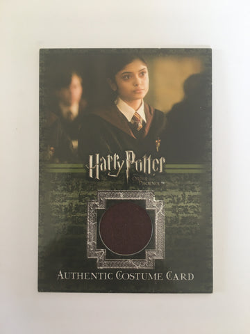 HARRY POTTER COSTUME (GRYFFINDOR UNIFORM) - Limited & Rare Trading Card