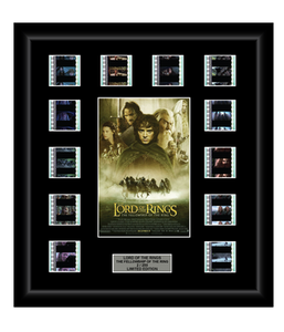 Lord of the Rings: The Fellowship of the Ring (2001) - 12 Cell Film Display