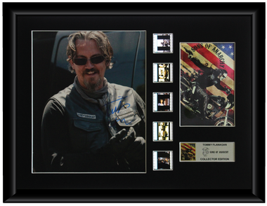 Sons of Anarchy Autographed Film Cell Display (Tommy Flanagan)