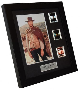 Clint Eastwood (Westerns) - 3 Cell Display