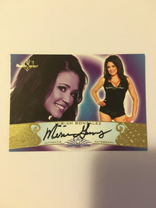 Miriam Gonzalez - Autographed Benchwarmer Trading Card (1)