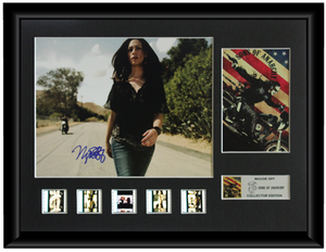 Sons of Anarchy - Autographed Film Cell Display (Maggie Siff)