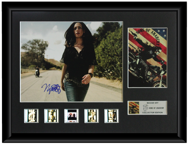 Sons of Anarchy Autographed Film Cell Display (Maggie Siff)