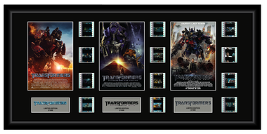 Transformer Trilogy - Triple 12 Cell Display
