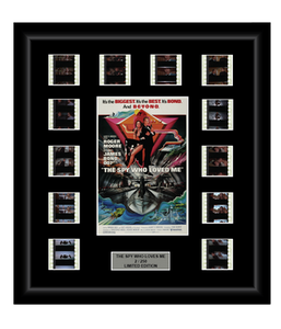 Spy Who Loved Me (James Bond) (1977) - 12 Cell Classic Display