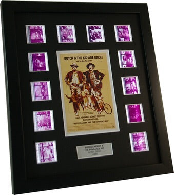 Butch Cassidy and the Sundance Kid - 12 Classic Cell Display