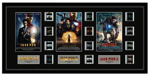 Iron Man Trilogy - Triple 12 Cell Display