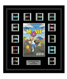 Simpsons Movie (2007) - 12 Cell Display