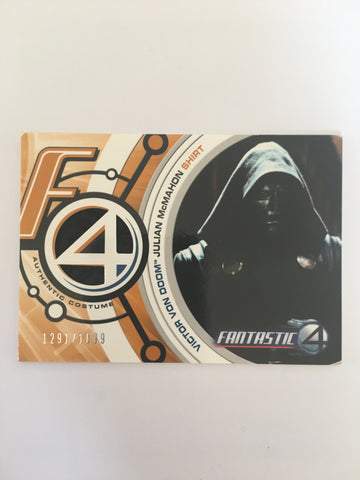 FANTASTIC 4 COSTUME (DR DOOM) - Limited & Rare Trading Card (1)