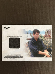 TOMMOROW NEVER DIES COSTUME (TACTICAL VEST) - Limited & Rare Trading Card