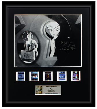 Margaret Kerry (Tinker Bell) Peter Pan Autographed Film Cell Display (1)