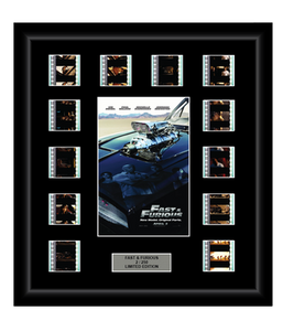Fast and Furious (4) (2009) - 12 Cell Film Display