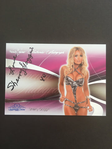 Sherry Goggin - Autographed Benchwarmer Trading Card (2)