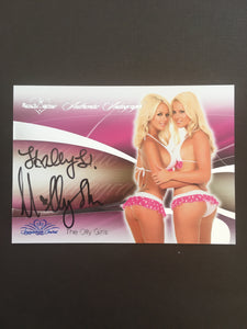 The Olly Girls - Autographed Benchwarmer Trading Card (1)