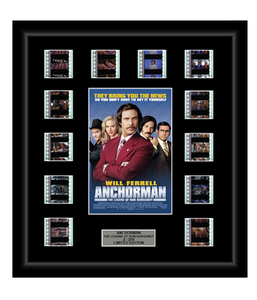 Anchorman: The Legend of Ron Burgundy (2004) - 12 Cell Display