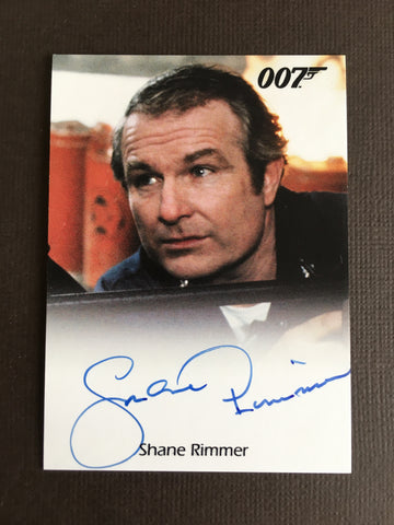 James Bond Autograph Card (Shane Rimmer) - Limited & Rare Trading Card