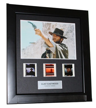 Clint Eastwood (Westerns) - 3 Cell Display (2)