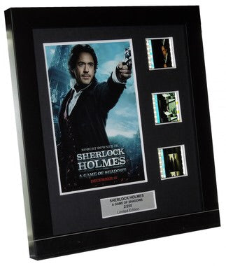 Sherlock Holmes: A Game of Shadows (2011) - 3 Cell Display