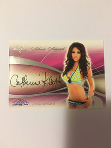 Catherine Kluthe - Autographed Benchwarmer Trading Card (1)