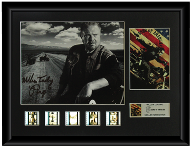 Sons of Anarchy Autographed Film Cell Display (William Lucking)