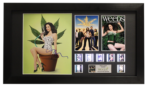 Weeds Autographed Film Cell Display (Mary-Louise Parker)