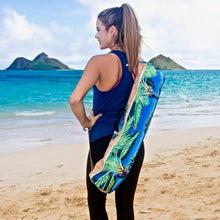 bliss collective bags 'olu'olu Bliss Hawaii yoga bag hawaii art cork