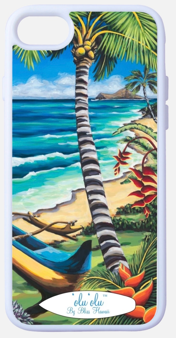 'olu'olu by Bliss Hawaii iPhone Case for iPhone 7 and 8